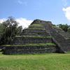 Chacchoben Pyramid At Quintana Roo - Mexico