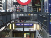 Chancery Lane Tube Station