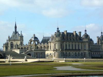 Chateau De  Chantilly Garden