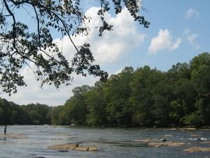 El río Chattahoochee