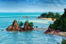 Cherating Beach Facing South China Sea
