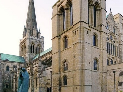 Chichester  Cathedral South  West Aspect