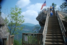 Chimney Rock Stairway - North Carolina