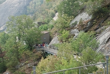 Chimney Rock State Park CR NC - Visitor Group