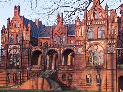 Chorzemin Complex Park - Palace Chorzemin Poland