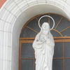 Church Front Statue