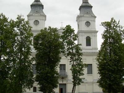Church Of Zemaiciy Kalvarija
