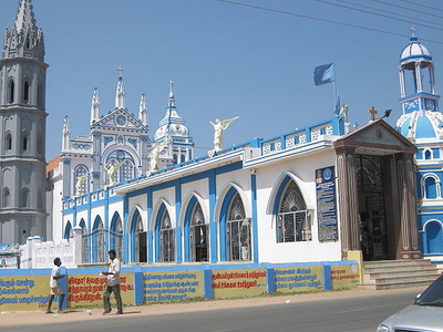 Church Of Our Lady Of Snow Thoothukudi