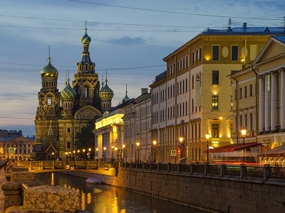 Church Of Our Saviour On Spilled Blood At St. Petersburg