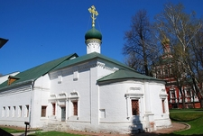 Church Of Saint Ambrose - Moscow Novodevichy Monastery