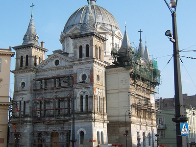 Church Of The Holy Trinity In Lodz