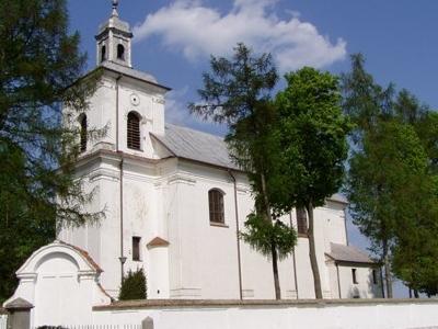 Church Of The Holy Trinity In Rudka