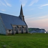 Church On Etretat Cliff - Normandie France