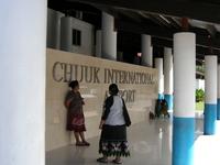Camiones Chuuk INTL. Aeropuerto