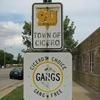 Cicero Sign No Gangs