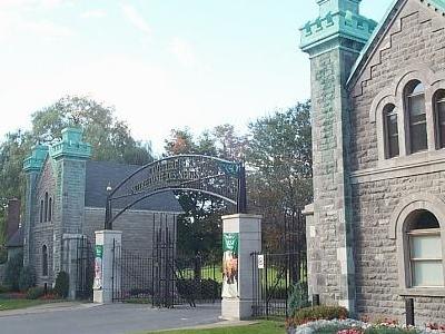 Front Entrance, Cimetiere Notre-Dame-des-Neiges