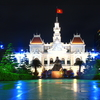 Ho Chi Minh City Hall At Night