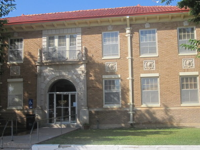 City Hall In Littlefield Built 1930