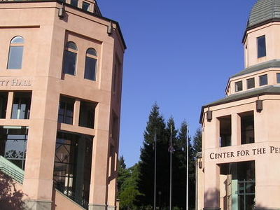 City Hall And The Center For The Performing Arts