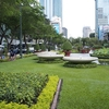 City Park In Ho Chi Minh City