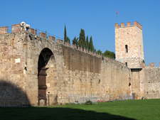 City Walls Of Pisa