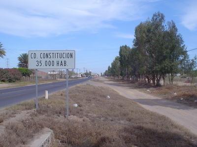 Ciudad Constitucin Road Sign