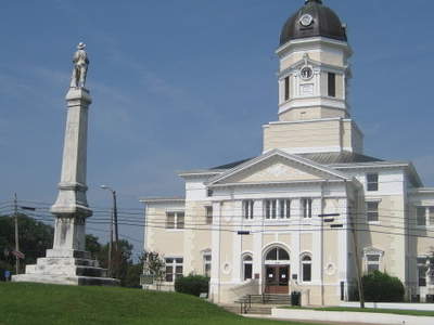 Claiborne County Courthouse In Port Gibson