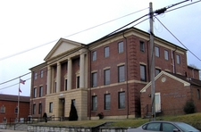 Claiborne County Courthouse In Tazewell