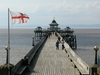 Clevedon  Pier From  Toll  House
