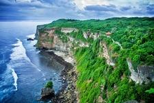 Cliff In Bali