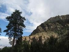 Cliffs And Pond Erosoa In Hendy Creek