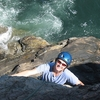 Climbing Otter Cliff - Acadia Maine