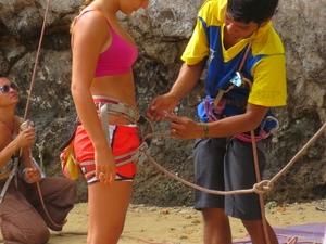 1/2 Day Rock Climbing Tours At Railay Beach,Krabi Fotos