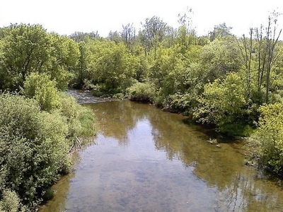 Clinton River In Northern Macomb County