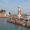 Clock Tower At Har Ki Pauri