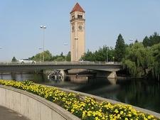 Clock Tower At Spokane Riverfront Park WA