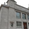 Closeup Of Solvay Public Library