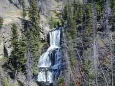 Close-Up View Of Undine Falls