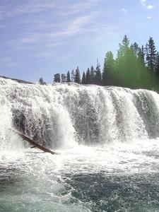 Close View - Bechler Falls