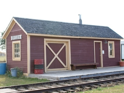 Canadian Northern Portable Train Station