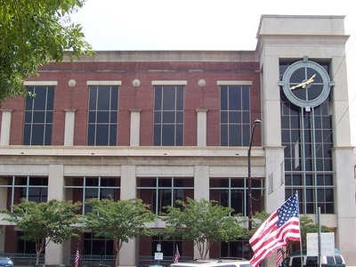 Cobb County Courthouse In Marietta