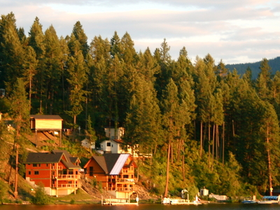 Sunset In Coeur D\'Alene