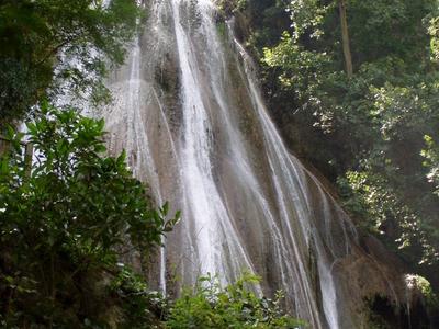 Cola De Caballo Waterfall