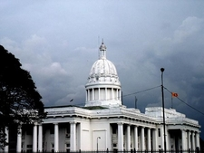 Colombo Town Hall In Cinnamon Gardens