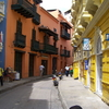 Colonial Streets In Cartagena