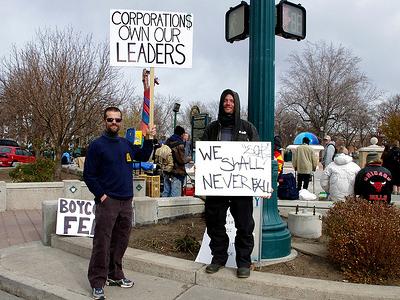 Colorado Spring Protestors CO