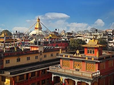 Colorful Kathmandu Rooftops