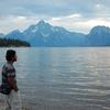 Colter Bay Beach - Grand Tetons - Wyoming - USA