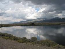 Comins Lake Clouds