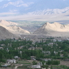 Complete View Of Leh As Seen From Shanti Stupa